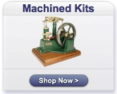Machined Model Steam Engine Kits